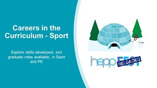 Sport: Careers in the Curriculum