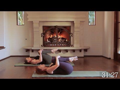 30 min Intermediate Core Blasting Pilates Workout #1