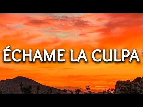 Video Luis Fonsi, Demi Lovato ‒ Echame La Culpa (Lyrics) download in MP3, 3GP, MP4, WEBM, AVI, FLV January 2017