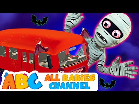 Halloween WHEELS ON THE BUS RHYME | Nursery Rhymes For Kids And Baby Songs | All Babies Channel