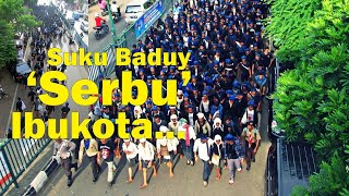 Video Warga Suku Baduy Bersama sama 'Serbu' Kota Serang MP3, 3GP, MP4, WEBM, AVI, FLV November 2018