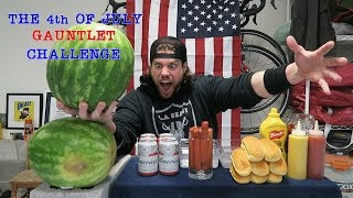 """L.A. BEAST DRINKING 6 BEERS THROUGH HIS NOSE:https://www.youtube.com/watch?v=MZuMxYAVWRI   Well its that time of year again. Independence Day here in the United States of America...aka...The 4th of July. Over the past few years, the L.A. BEAST has celebrated Independence Day here on YouTube by trying to block Roman Candle Fireworks being shot at him at close range using a Captain America Shield.....to eating an entire Watermelon including the hard candy green shell. This year however, the L.A. BEAST has decided to keep things simple....by taking regular 4th of July Barbecue items, mashing them all together and consuming them in one giant gauntlet challenge the only way he knows how.....In Ridiculous Fashion.Whatever you do kids, always remember that Watermelons are meant to be EATEN.....NOT BEATEN. You have been warned. Please sit back, relax and enjoy....CHECK OUT PREVIOUS L.A. BEAST 4th of JULY VIDEOS BELOW:Fireworks:https://www.youtube.com/watch?v=PyhG_DvWpk4Watermelon:https://www.youtube.com/watch?v=pLunzl5wFNkPlease Subscribe for More L.A. BEAST Antics:https://www.youtube.com/user/skippy62able   BRAND NEW L.A. BEAST T-SHIRTS & HOODIES!!!https://thrilled.com/brands/labeastNEW!!! Get your L.A. BEAST """"Have A Good Day"""" Sticker here:http://mkstk.co/labeastFollow My Daily Vlogs.... I swear A Lot. They are Funny. That is all.https://www.youtube.com/channel/UCrfgIZx8kunMJdu0OZupgFA  Download """"The Crystal Pepsi Song"""" by clicking link below:https://itunes.apple.com/us/album/crystal-pepsi-song-feat.-thats/id1024817772?i=1024817779&ign-mpt=uo%3D4T-SHIRTS: http://labeast.spreadshirt.com/?nocache=trueSNAPCHAT. LABEAST62INSTAGRAM: http://www.instagram.com/labeast62/#TWITTER: https://twitter.com/#!/KevLAbeastFACEBOOK: https://www.facebook.com/pages/La-Beast/234004536649803?bookmark_t=pageWEBSITE: http://www.labeast.comMUSIC IN THIS VIDEO IS ROYALTY FREE MUSIC AND PROVIDED BY: WWW.INCOMPETECH.COM""""Take a chance"""" """"Perspectives"""" """"evening melodrama"""" """"americana""""Kevin MacLeod (incomp"""