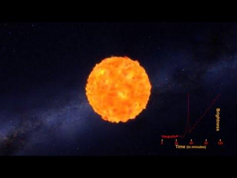 超震撼! NASA首次拍到超新星爆炸「衝擊波」!
