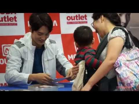 2016-09-02 Joo Won Mountia Fan Sign at GimCheon Moda Outlet 2 (видео)