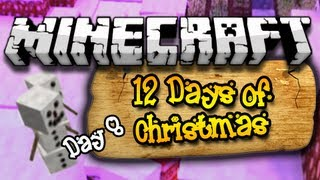 """""""I'M SO LOST!"""" 12 Days of Christmas Minecraft Special - Day 8 (HD)"""