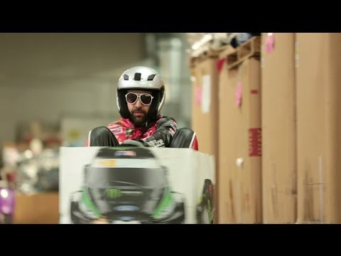 Ken Box Crazy Cart Gymkhana - A Tribute to Ken Block