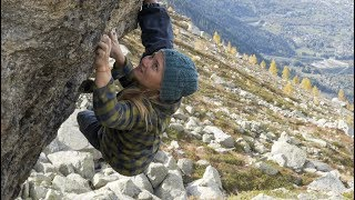 High Altitude Bouldering With Hazel Findlay + Crew by Matt Groom
