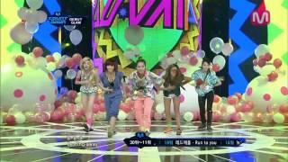 [엠카 동영상] 글램 데뷔 무대- Party