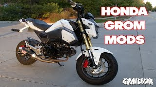 6. BEST HONDA GROM MODS!