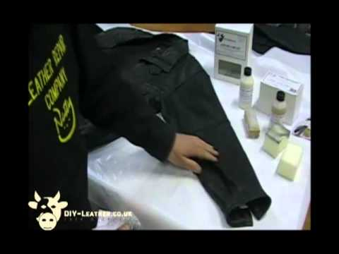 jacket videos - How to repair a leather jacket. We sell a range of DIY leather repair kits. Very simple & easy to use. Will save you £££'s off the normal repair service pric...