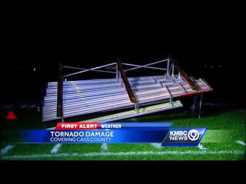 Cass County school closes Monday to assess tornado damage