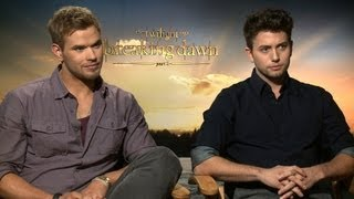 'Breaking Dawn 2' Kellan Lutz And Jackson Rathbone Interview