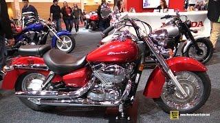 9. 2016 Honda Shadow Aero 750 - Walkaround - 2016 Toronto Motorcycle Show