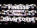 Finesse (REMIX) | Bruno Mars ft. Cardi B //DRUM COVER\