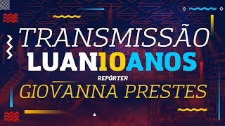 Luan Santana comemora 10 anos de carreira em um super show especial, no comando de Boca Rosa e Whindersson Nunes nos...