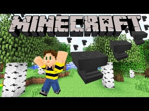 Minecraft 1.4 Snapshot: ANVILS! Crush Friends, Name Items, Repair with