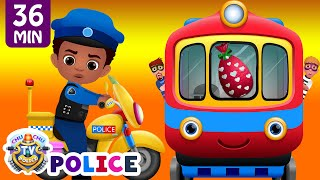 Video ChuChu TV Police Chase Thief in Police Car to Save Huge Surprise Egg Toys Gifts – The Train Escape MP3, 3GP, MP4, WEBM, AVI, FLV Agustus 2018