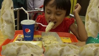 Street Food India | People Love to Eat MOMO | Busy MOMO Center Activity | Indian Food Lovers