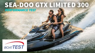 7. Sea-Doo GTX Limited 300 Test 2016- By BoatTest.com