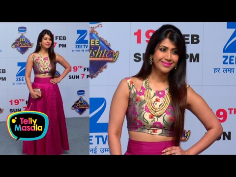 Ankita Bhargava TRADITIONAL LOOK At Zee Rishtey Aw