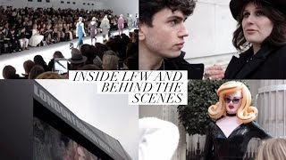 Inside London Fashion Week&Behind The Scenes