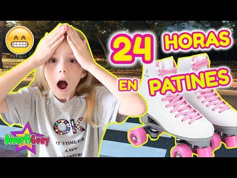 Video 24 HORAS EN PATINES!! PASO LA NOCHE CON PATINES DANIELA DIVERTIGUAY download in MP3, 3GP, MP4, WEBM, AVI, FLV January 2017