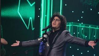En la tanda final de Campeón de campeones, Francisco Chávez dio lo mejor de sí con esta romántica canción de Andrés Calamaro.