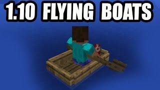 Minecraft 1.10 Update - FLYING BOATS SECRET!