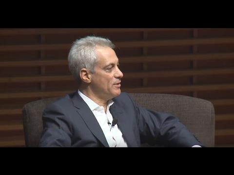 Chicago Mayor Rahm Emanuel on Policy-Making & Negotiation