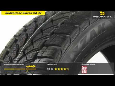 Youtube Bridgestone Blizzak LM-32 205/55 R16 94 H VW XL Zimní
