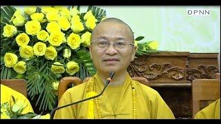 Tổng kết công tác Phật sự 2016 - TT. Thích Nhật Từ