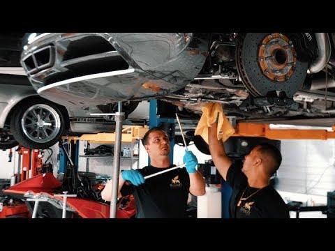 Bugatti Veyron $21K Oil Change ?.. Ehhh, I'll do it Myself !