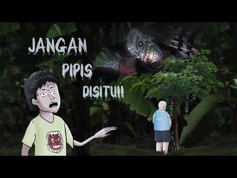 Itu Pohon Rumahnya Leak!! #HORORMISTERI | Kartun Hantu dari Bali, Leak Gundul / Celuluk