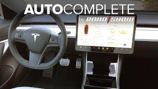 AutoComplete: We try Tesla's Navigate on Autopilot on LA freeways by Roadshow