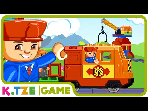 Lego Duplo Eisenbahn auf Deutsch ❖ Ein Film zur App | K.Tze