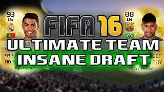 RONALDO & NEYMAR OMG! || Fifa 16 ULTIMATE TEAM DRAFT || Ultimate Team DRAFT, neymar, neymar Barcelona,  Barcelona, chung ket cup c1, Barcelona juventus