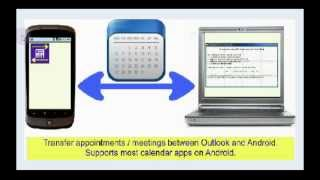 Outlook Calendar Transfer Sync YouTube video