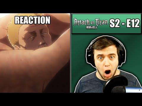 Rich Reaction - Attack On Titan Season 2 Episode 12 - Eren's New Abilities