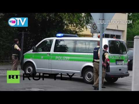 La Policía de Múnich interviene tras el tiroteo que dejó varios muertos