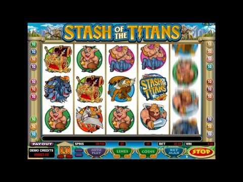 Stash of the Titans™ - 15 Free Spins and HUGE Payout