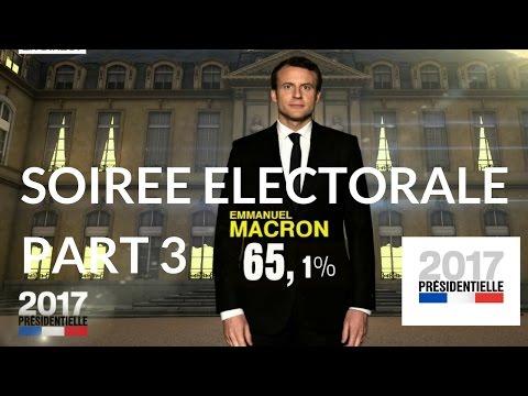 """""""Présidentielle 2017"""" : Soirée électorale du second tour – 7 mai 2017 (France 2) – 19H58 / 21H"""