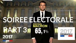 """Video """"Présidentielle 2017"""" : Soirée électorale du second tour – 7 mai 2017 (France 2) – 19H58 / 21H MP3, 3GP, MP4, WEBM, AVI, FLV November 2017"""