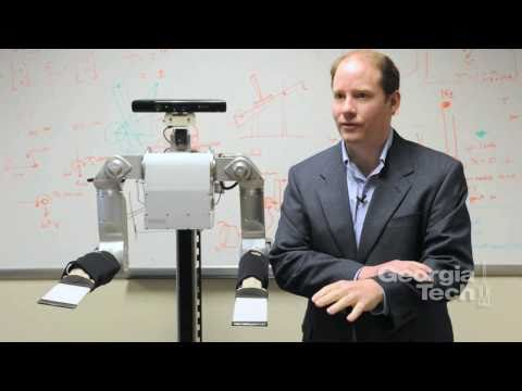 How Do People Respond to Being Touched by a Robot? Video