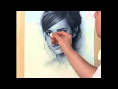 [Clip] - Nghệ thuật vẽ chân dung 3D rất sống động !