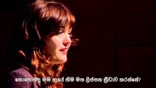 Life is not worrying about your limitations, it's about enjoying about your possibilities. Amy Purdy: Living beyond limits  TED Talk in Sinhala Subtitles. Translated ...