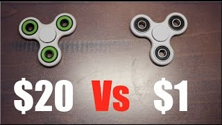 Video $20 vs $1 Fidget Spinner MP3, 3GP, MP4, WEBM, AVI, FLV September 2017