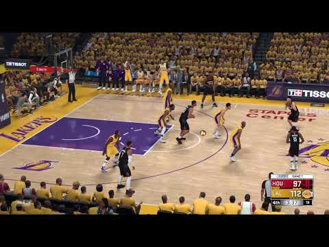 Houston Rockets @ Los Angeles Lakers: Game 1
