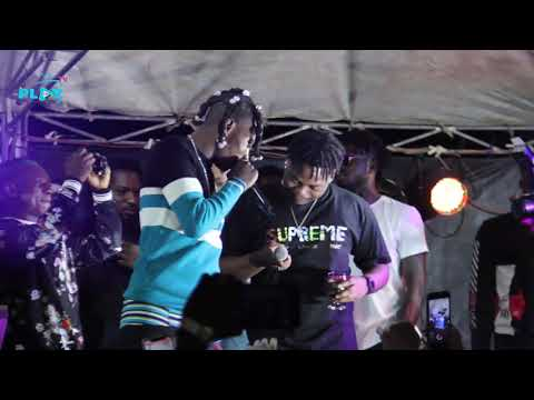 Olamide, Lil Kesh and Naira Marley performs (GOAL) together at Marlian Fest