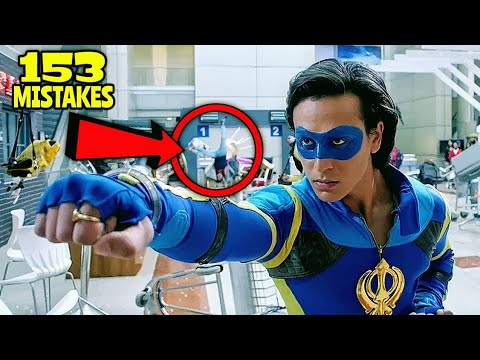 "153 Mistakes In A Flying Jatt - Plenty Mistakes In ""A Flying Jatt"" Full Hindi Movie - Tiger Shroff"