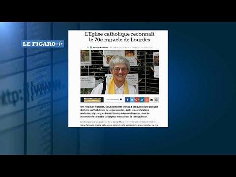 Heilung einer gelähmten Nonne: Lourdes 70. Wunder